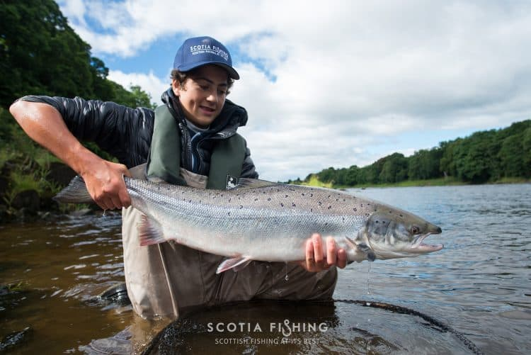 kids-Salmon-fishing-scotland