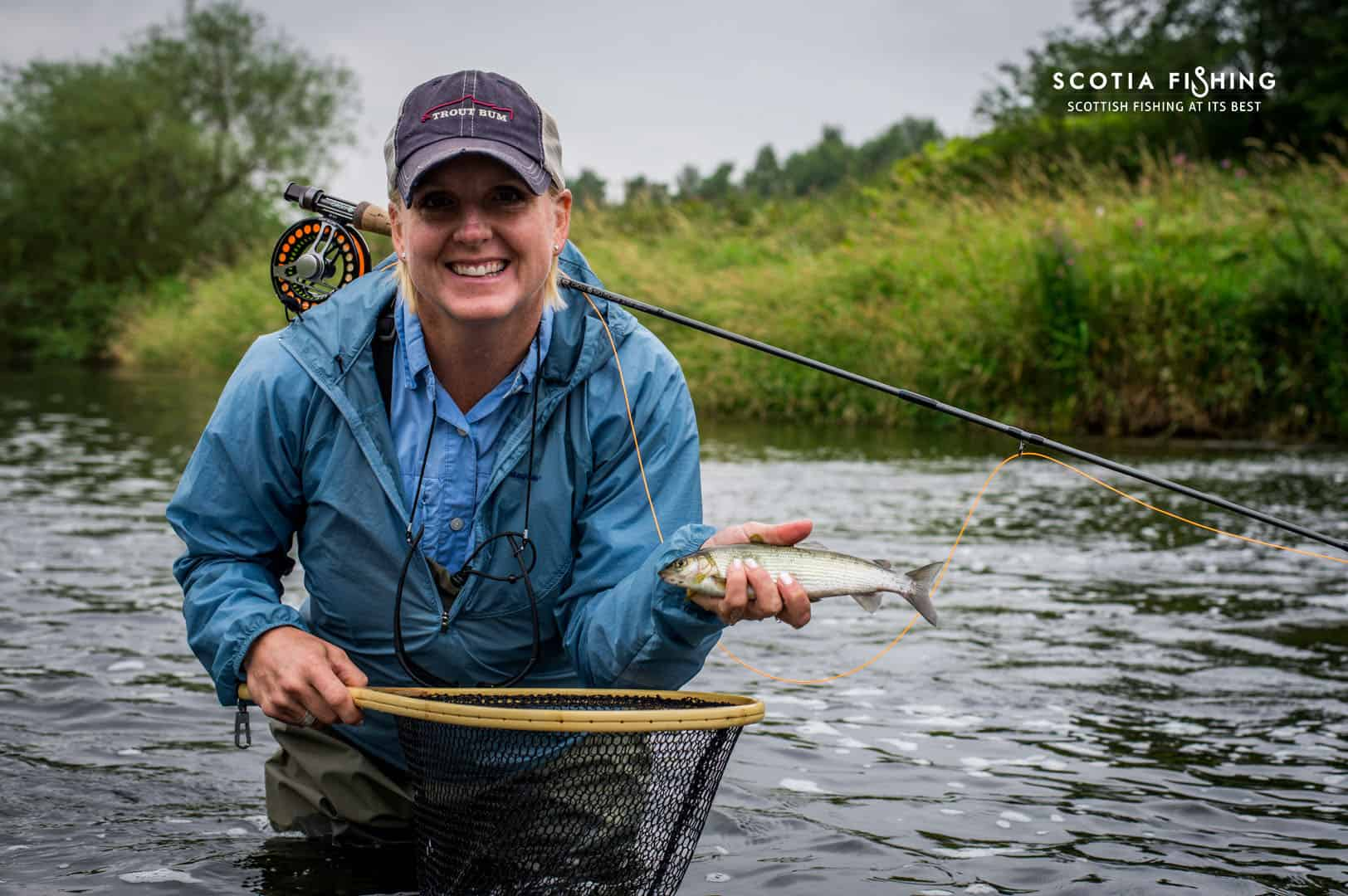 Grayling fishing edinburgh scotland for Fishing in scotland